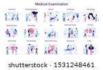 doctor and medicine big set.... | Shutterstock .eps vector #1531248461