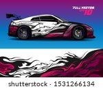 car wrap or decal design.... | Shutterstock .eps vector #1531266134