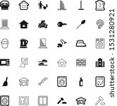 house vector icon set such as ... | Shutterstock .eps vector #1531280921
