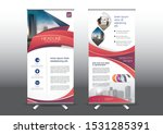 rollup template vector... | Shutterstock .eps vector #1531285391