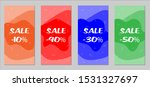 sale flyers. set of vintage...   Shutterstock .eps vector #1531327697