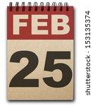25  February Calendar On...