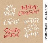 vector set of holidays... | Shutterstock .eps vector #1531374704