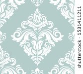 orient classic light blue and... | Shutterstock . vector #1531411211