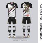 soccer jersey template black... | Shutterstock . vector #1531427597