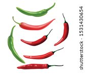 Red  Green  Chilli Peppers...