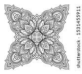 circular pattern in form of... | Shutterstock .eps vector #1531455911
