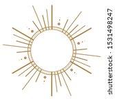 celestial element for...   Shutterstock . vector #1531498247