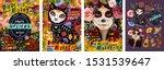d a de los muertos  mexican... | Shutterstock .eps vector #1531539647