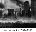 dead city | Shutterstock . vector #153162161