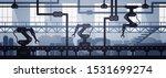 vector illustration of seamless ... | Shutterstock .eps vector #1531699274