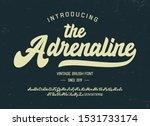 """the adrenaline"".  vintage... | Shutterstock .eps vector #1531733174"