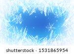 Frost Pattern Background....
