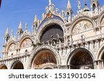 Famous Of Saint Mark Basilica....