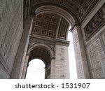 arc de triumph | Shutterstock . vector #1531907