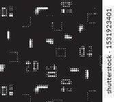 abstract grunge grid polka dot...   Shutterstock .eps vector #1531923401