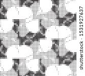 abstract grunge grid polka dot...   Shutterstock .eps vector #1531927637