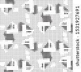 abstract grunge grid polka dot...   Shutterstock .eps vector #1531927691