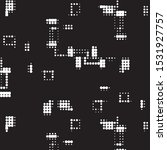 abstract grunge grid polka dot...   Shutterstock .eps vector #1531927757