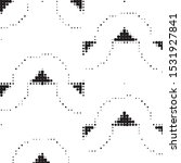 abstract grunge grid polka dot...   Shutterstock .eps vector #1531927841