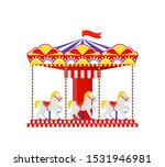 Carousel Horse. Merry Go Round. ...