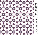 seamless geometric ornamental... | Shutterstock .eps vector #1531954277