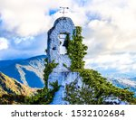 Small photo of Mission Bell Tower at Monserrate Bogota Colombia