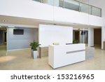 empty reception hall in modern