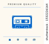 audio cassette icon. graphic... | Shutterstock .eps vector #1532226164