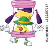 juggling sandglass isolated... | Shutterstock .eps vector #1532257367