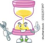 mechanic sandglass isolated... | Shutterstock .eps vector #1532257397
