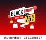 black friday promotion banner....   Shutterstock .eps vector #1532258537