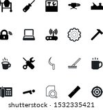 work vector icon set such as ... | Shutterstock .eps vector #1532335421