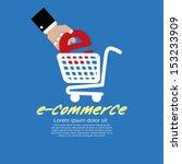 e commerce vector illustration... | Shutterstock .eps vector #153233909