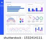 dashboard interface. admin... | Shutterstock .eps vector #1532414111
