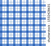 classic blue and white plaid... | Shutterstock .eps vector #1532428631