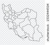 blank map of islamic republic...