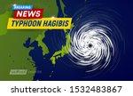 super typhoon hagibis  5... | Shutterstock .eps vector #1532483867