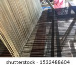 a loom is a device used to...   Shutterstock . vector #1532488604