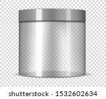 empty clear cosmetic jar with...   Shutterstock .eps vector #1532602634