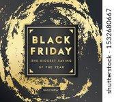 black friday sale banner...   Shutterstock .eps vector #1532680667