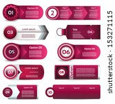 modern infographics options... | Shutterstock .eps vector #153271115