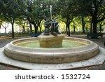 italy.toscana. cortona. fountain   Shutterstock . vector #1532724