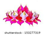 loy kratong festival   Shutterstock . vector #153277319