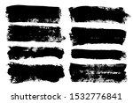 brush strokes. vector... | Shutterstock .eps vector #1532776841