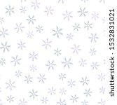 snowflakes in different shapes... | Shutterstock .eps vector #1532831021
