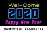 happy new year image in text ... | Shutterstock . vector #1532869451
