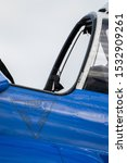 Small photo of alpha jet ejection seat sticker detail