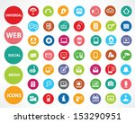 Web Icons Colorful Version...