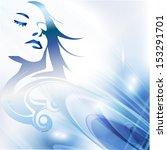 female beauty | Shutterstock . vector #153291701